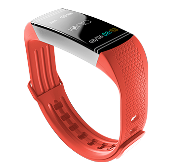 Ionic Smartwatch vermelho - Haiflex